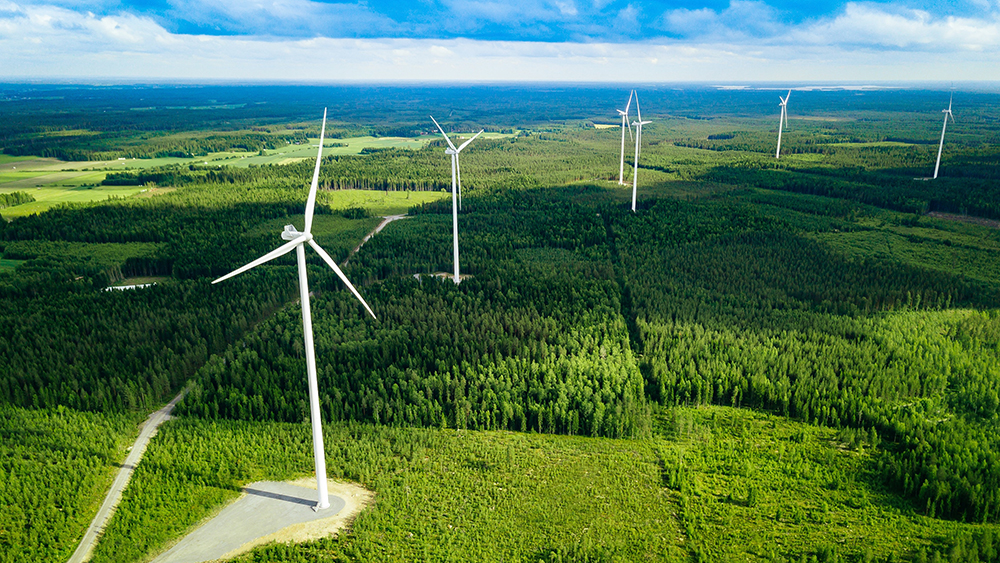 Renewable energy consumption in Finland exceeds the amount of imported fossil fuel energy