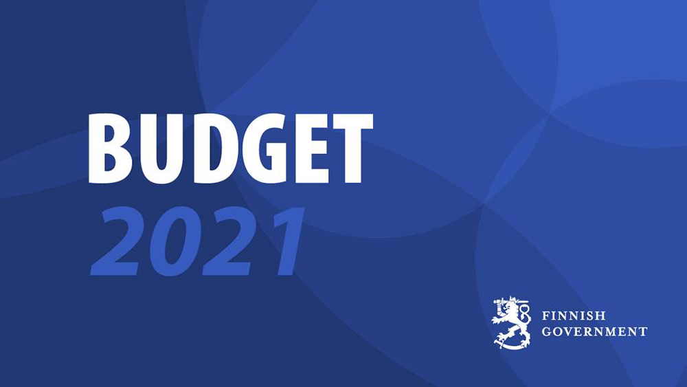 Draft Budget of Ministry of Economic Affairs and Employment for 2021: building new growth pathways