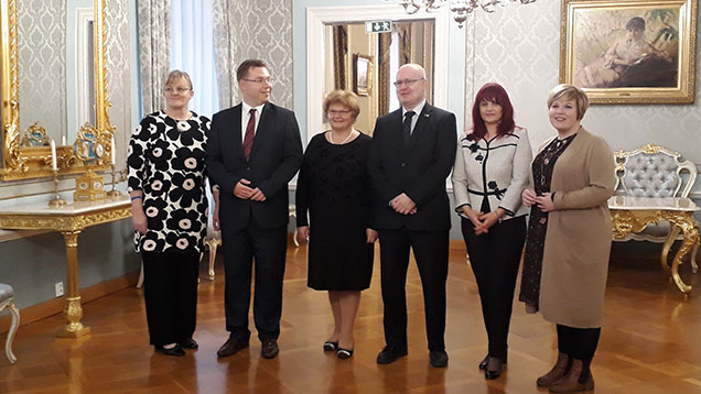 Minister Lindström and Minister Mattila met their Romanian and Croatian colleagues in Helsinki
